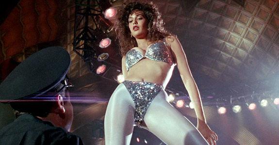 Teri hatcher on a stripper pole all?