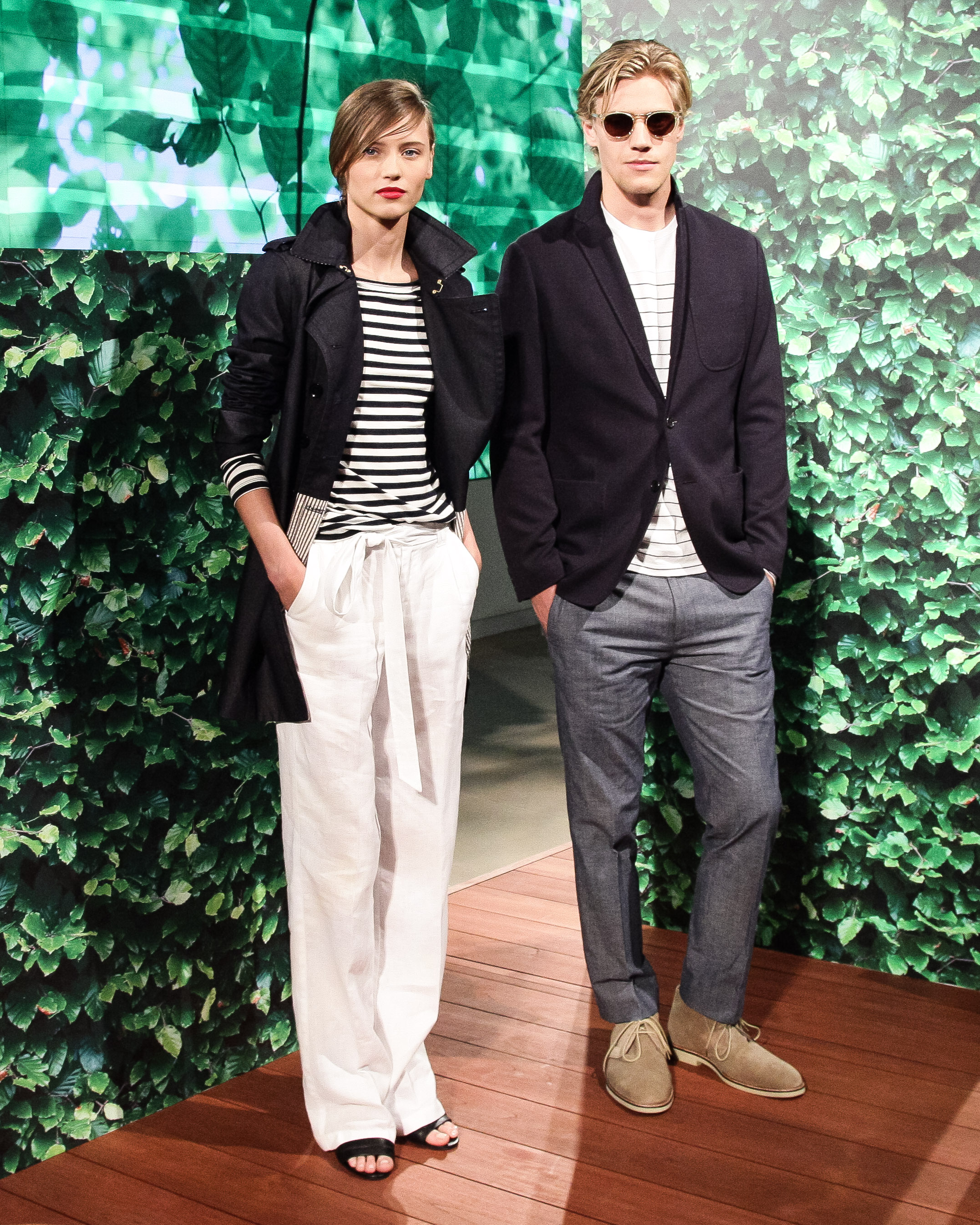 Banana Republic Does Americana in Red, White, and Stripes For Spring