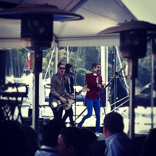Hot Chelle Rae held a surprise performance at a Sony event.
