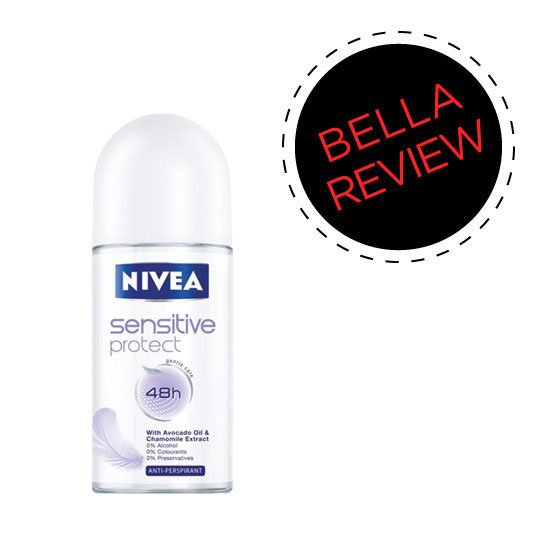 Beauty Reviews of NIVEA Sensitive Protect Roll On Deodorant