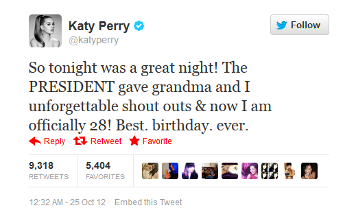 Happy birthday to the lovely Katy Perry.