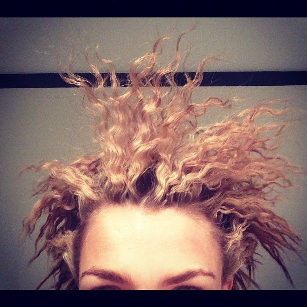 Ruby Rose suffered some serious hair issues. Source: Instagram user rubyrose86
