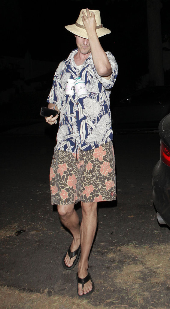 Ed Norton dressed up for a bash in LA in 2012.
