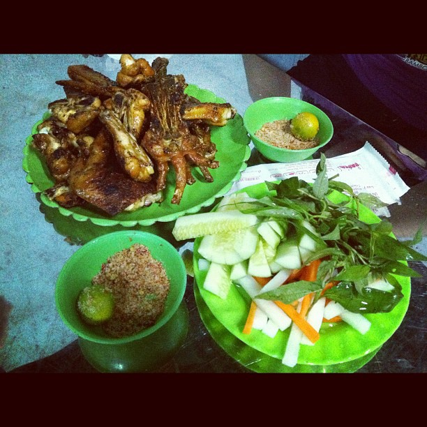 Chicken in Vietnam