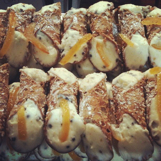 Cannoli in Sicily