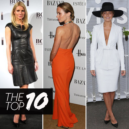 Top Ten Best Dressed of the Week: Gwyneth, Emily, Lara & More