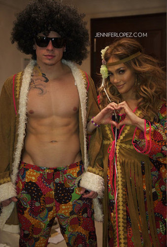 Jennifer Lopez shared some Halloween snaps on her website. Source: Twitter user JLo
