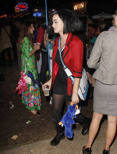 Katy Perry was Jane Lane from Daria for Halloween in 2012.