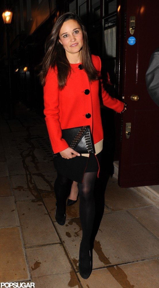 Pippa Middleton was out in London.