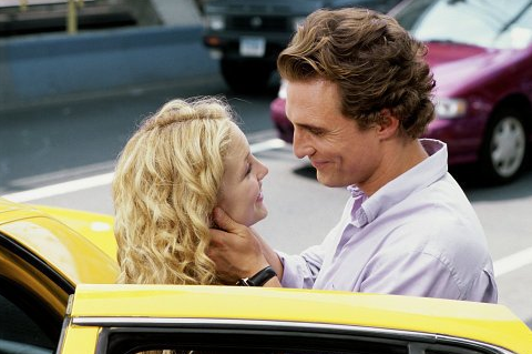 He was sweet with Kate Hudson in their 2003 movie How to Lose a Guy in 10 Days.