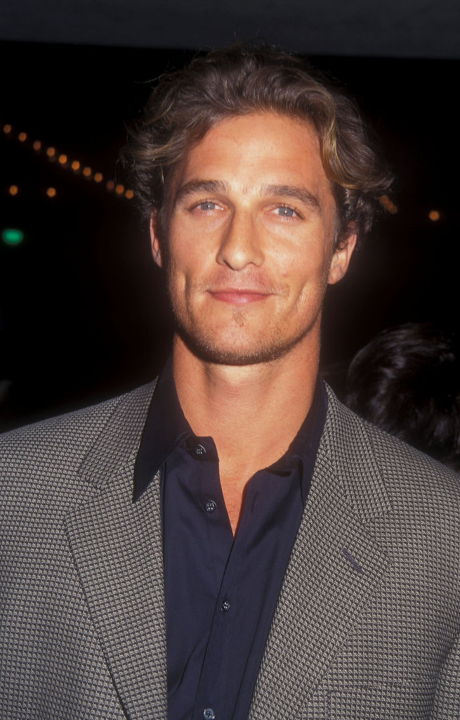 In October 1997, Matthew McConaughey looked good at the Seven Years in Tibet LA premiere.
