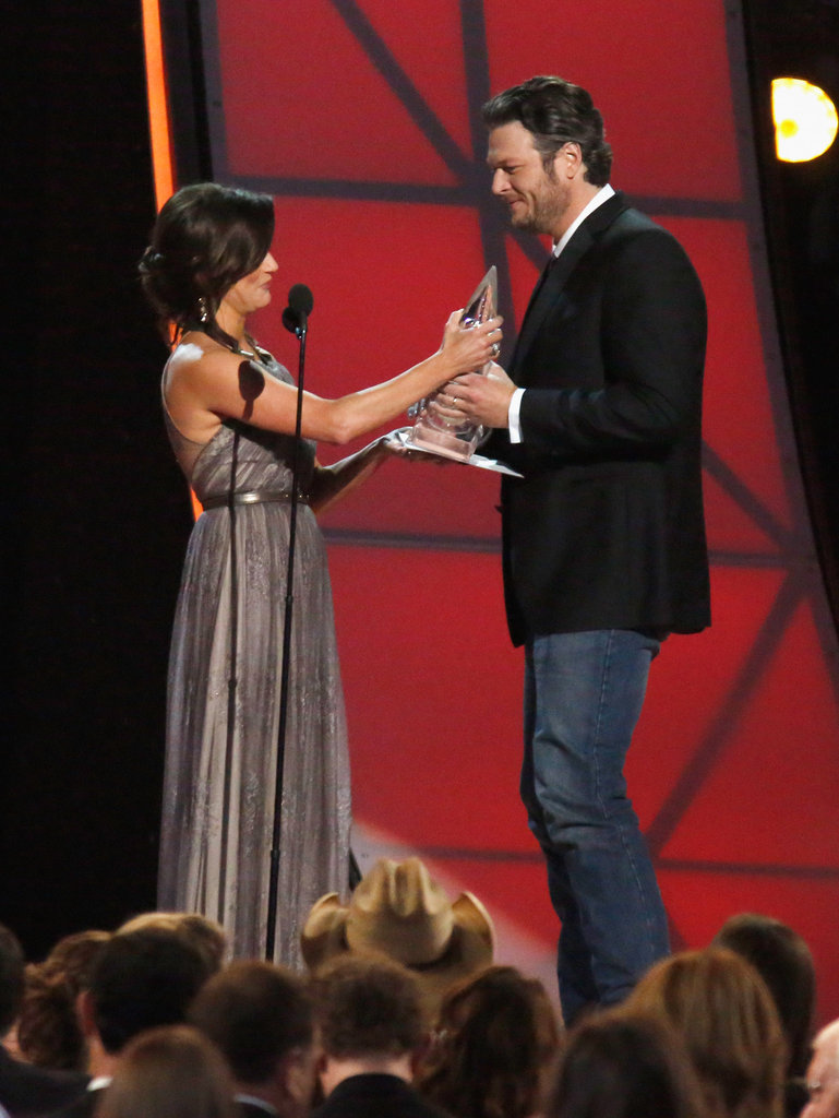 Blake Shelton and Martina McBride stepped out for the Country Music Association Awards.