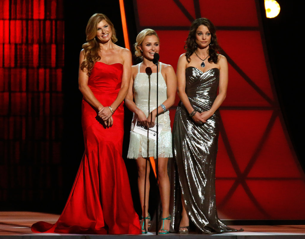 Connie Britton, Hayden Panettiere and Kimberly Williams-Paisley appeared on stage in Nashville.