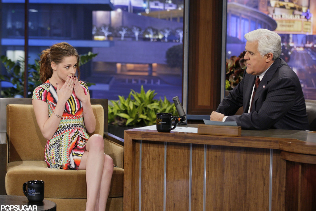 Kristen Stewart Gets Sexy and Colorful to Chat Breaking Dawn Twist Ending