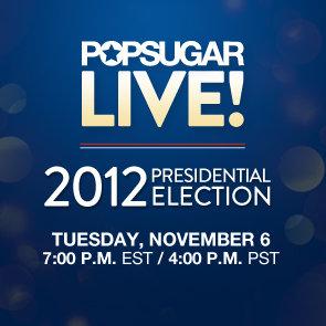 Election Night Live Stream on PopSugar