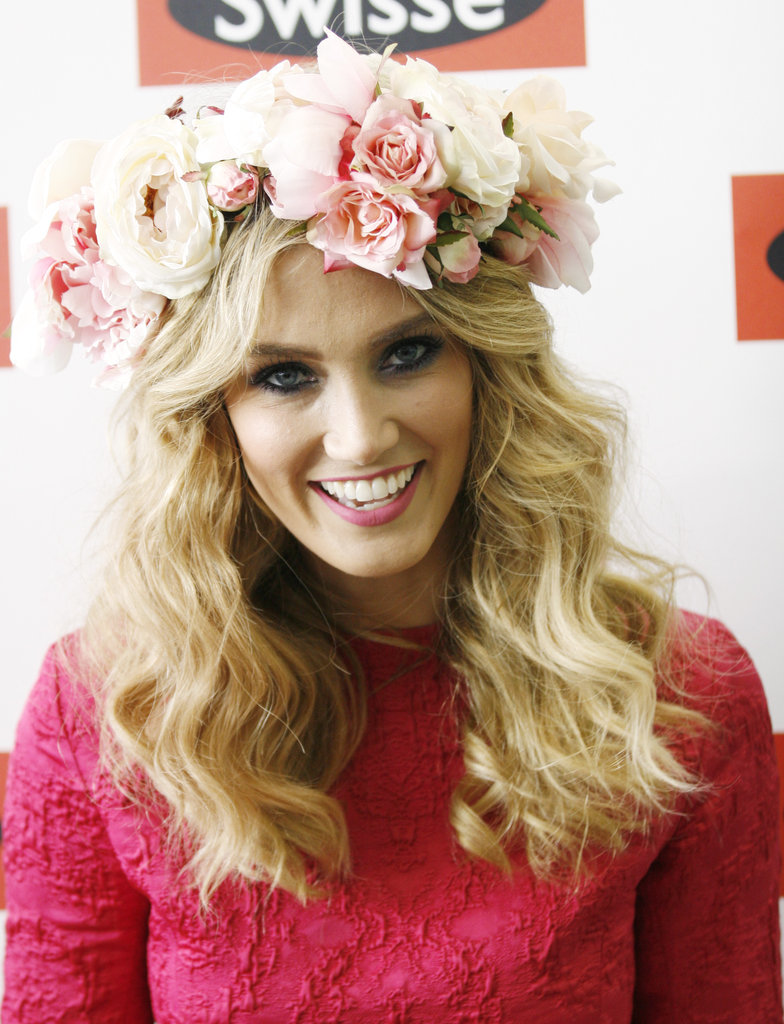 Delta Goodrem Is In Bloom at the Melbourne Cup