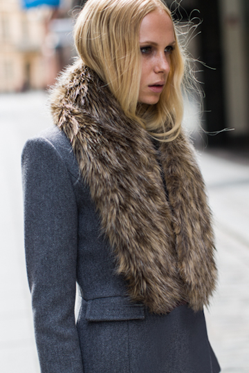 I'm pretty sure I would wear this Emerson Fry high tech fur collar ($188) with just about everything, maybe even when I'm at home in my pajamas. It's luxurious all by itself, but totally versatile in what it can be styled against. From the most pared-down jeans-and-jacket look to a formal night out ensemble, it's a Winter must have in my book. — Marisa Tom, associate editor