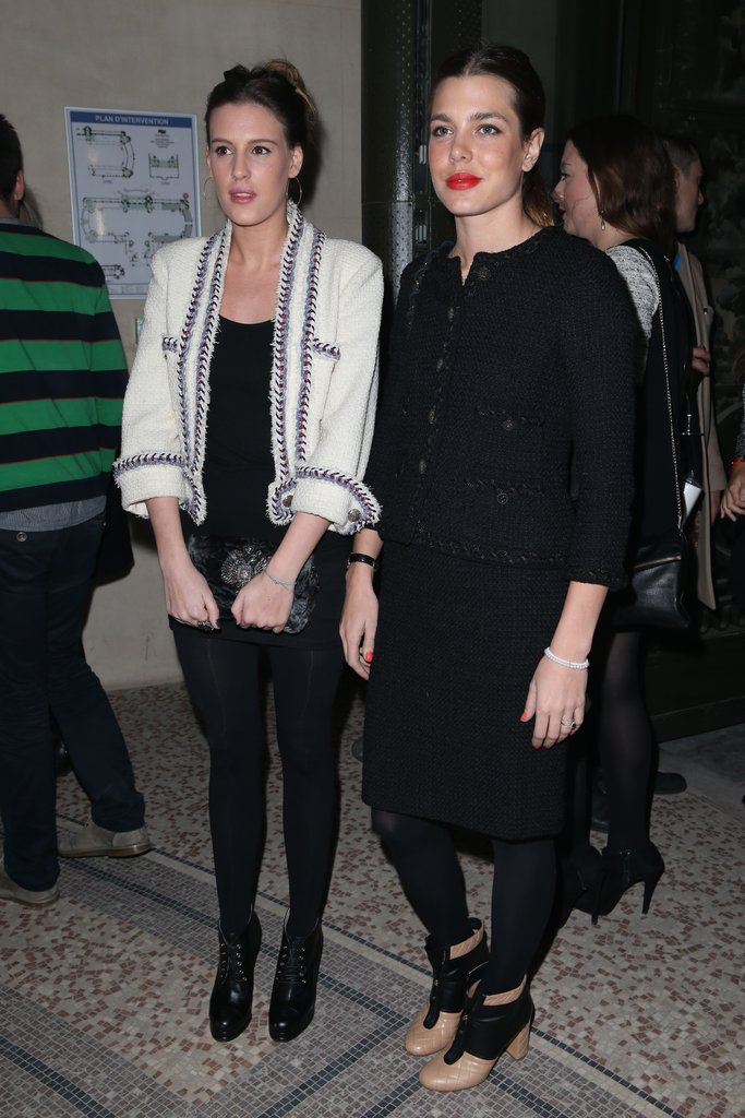 Juliette Mayol and Charlotte Casiraghi
