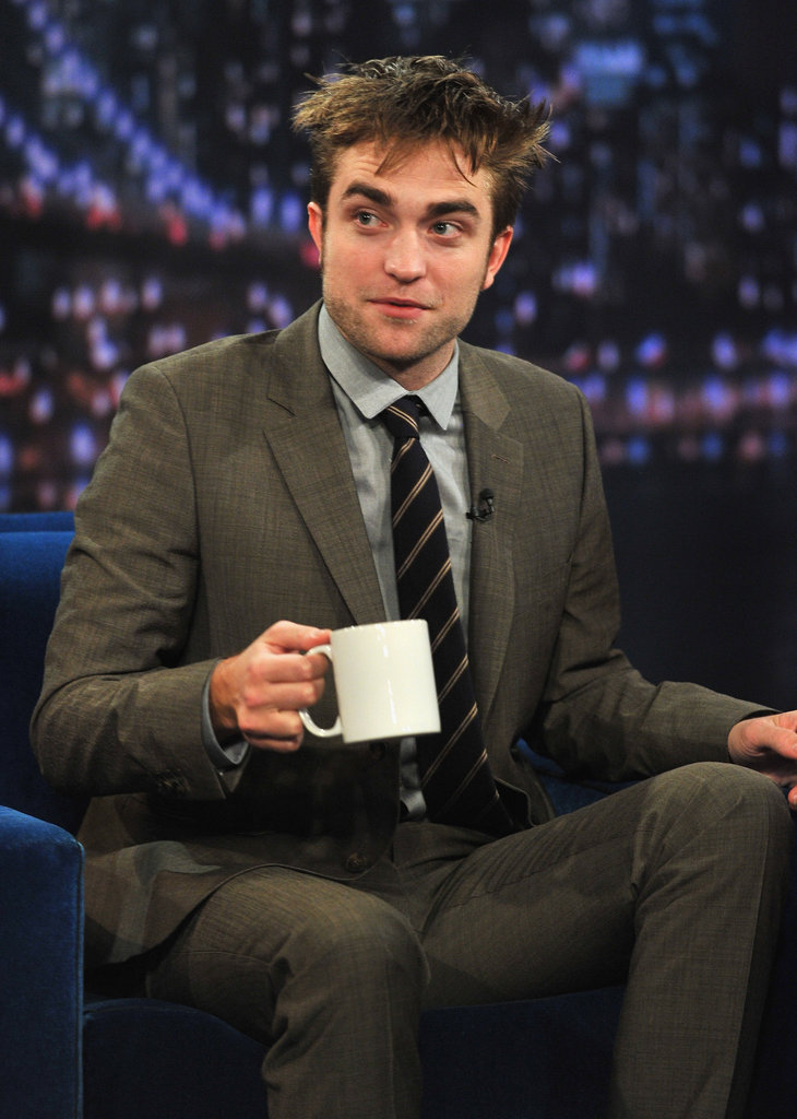 Robert Pattinson was on Late Night With Jimmy Fallon.