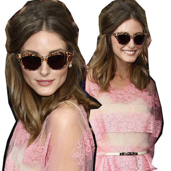 Get Olivia Palermos Catseye Sunglasses Style at Sunglass Hut