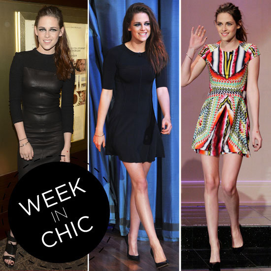Style Stalking Kristen Stewart's Week in Chic