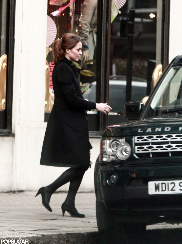 Kate Middleton shopped at Harvey Nichols.
