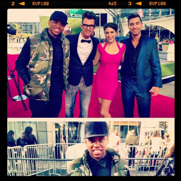 Tristan Wilds share a photo with his fellow hosts. Source: Instagram user tristanwilds