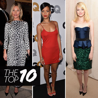 Best Dressed Celebs: Alexa Chung, Kristen Stewart, Rihanna