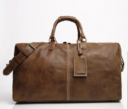 Roots Leather Duffle