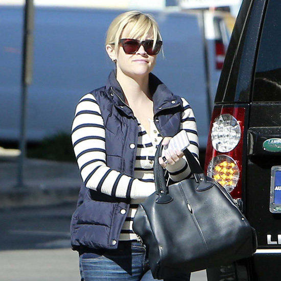 Reese Witherspoon Wearing Puffer Vest