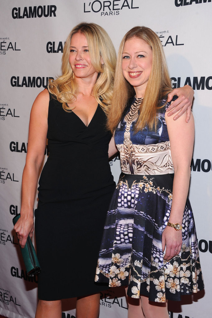 Chelsea Handler and Chelsea Clinton stepped out for the Glamour Women of the Year Awards.