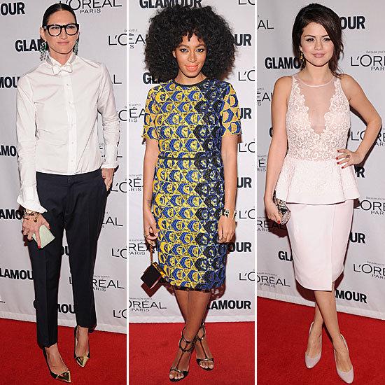 Selena Gomez, Lena Dunham & More at the Glamour WOTY Awards