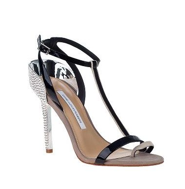 How sexy are these Diane von Furstenberg Rafiya Evening Sandals ($855)? They're also the kind of heel that make enough of a statement but aren't too trend-driven, so you'll keep these for seasons.