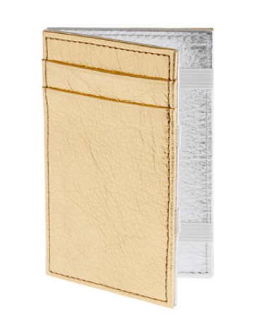 We're not kidding, J.Crew's magic wallet ($23) is magical. First, how sleek is the two-toned metallic casing? Second, it's superslim and manages to somehow hold all the essentials: your credit cards, ID, receipts, and train card. It doesn't matter if you're a global jet-setter or not, this magic wallet will make anyone smile.