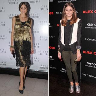 How To Wear Stylish Metallics Like Olivia Palermo