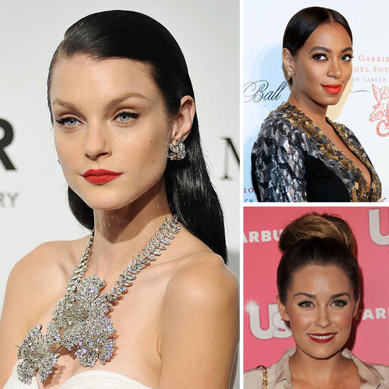 10 Holiday Hair and Makeup Ideas From the Red Carpet