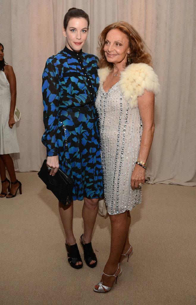 Liv Tyler and Diane von Furstenberg