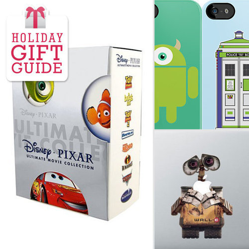 Adulthood probably didn't stop the Pixar-lover in your life from enjoying full-length animated feature films, so GeekSugar has mustered up 13 Pixar-themed gift ideas for grown-up geeks just like us.