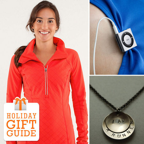 Just because running isn't a gear-heavy sport, doesn't mean the runner in your life won't appreciate a few gifts to inspire her training, lift her spirits when the going gets hard, and celebrate her big finishes. Fit has some great gift ideas for the runner in your life.