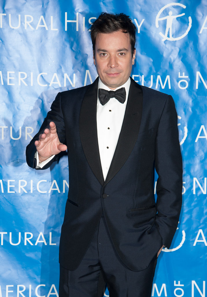 Jimmy Fallon posed for a shot.