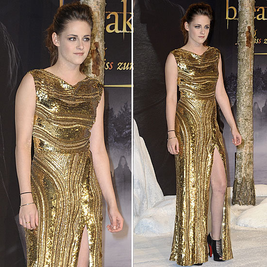 Kristen Stewart: Berlin Breaking Dawn Premiere In Elie Saab