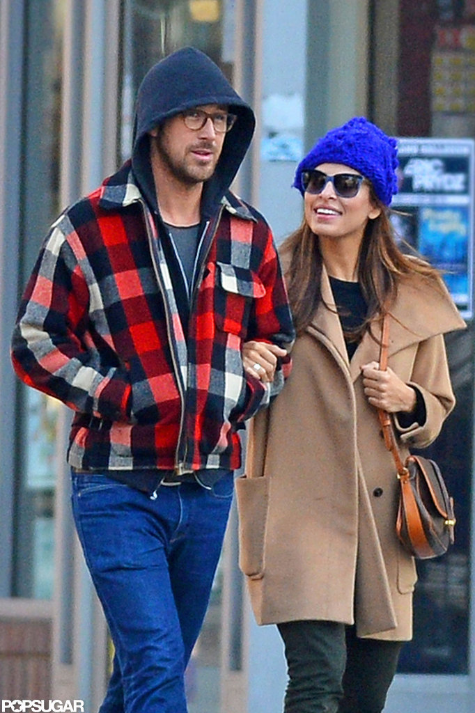 Ryan Gosling and Eva Mendes were together in NYC.