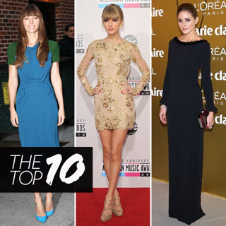 Top Ten Best Dressed Celebrity Looks This Week: Kate Moss