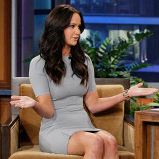 Jennifer Lawrence on Tonight Show With Jay Leno (Video)