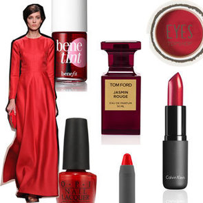 Top 10 Red Lipstick, Nail Polish and Makeup