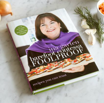 Confession: given the option, I will happily sit down and watch as many episodes of The Barefoot Contessa as can fit on my DVR. I was so excited to hear that Ina Garten was coming out with another cookbook, Barefoot Contessa: Foolproof ($35), just in time for the Holidays. I would love to surprise my friends with an elegant dinner instead of pizza for our next get together!  — Robert Khederian, fashion editorial assistant