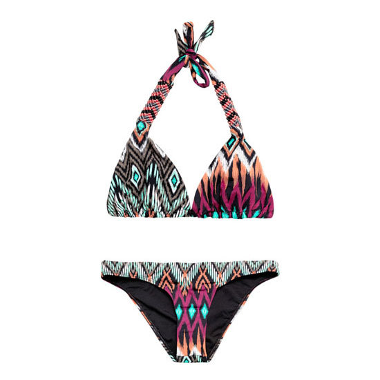 There are lots of patterns and prints to choose from this year, tribal has to be one of my favourites — Laura, shopstyle.com.au country manager Bikini, approx $220, Ondademar at Matches