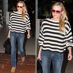 Steal Diane Kruger's Cool Off-Duty Denim Style via Shopstyle