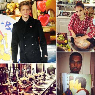 Jessica Alba, Cody Simpson, Nicole Richie Thanksgiving Pics