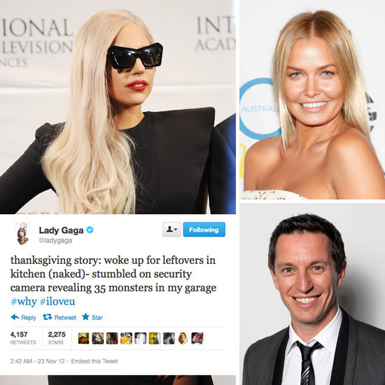 Tweets of the Week: Lady Gaga, Rove, Lara & More: